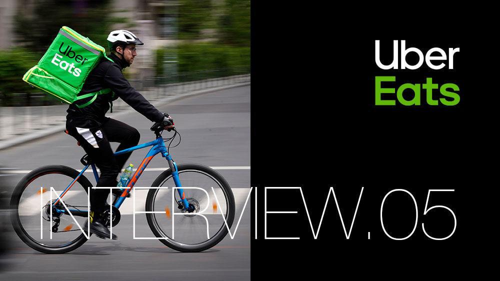 Uber Eats配達を自転車でやってみた
