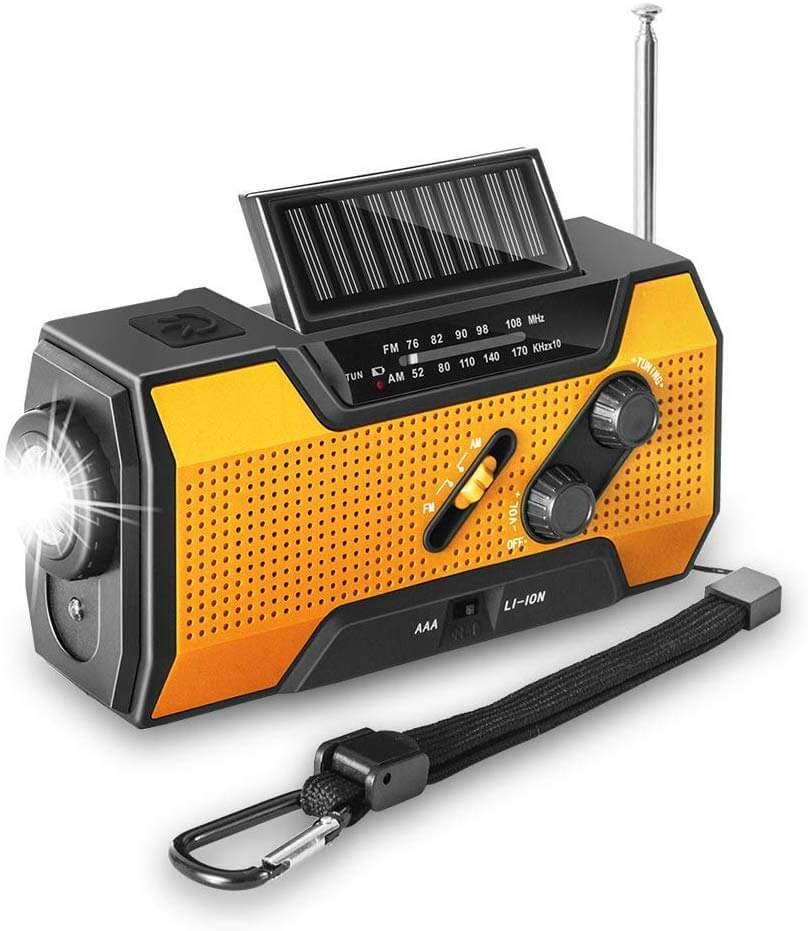 Emmabin 非常用照明器具 ラジオライト 手回し充電 USB充電